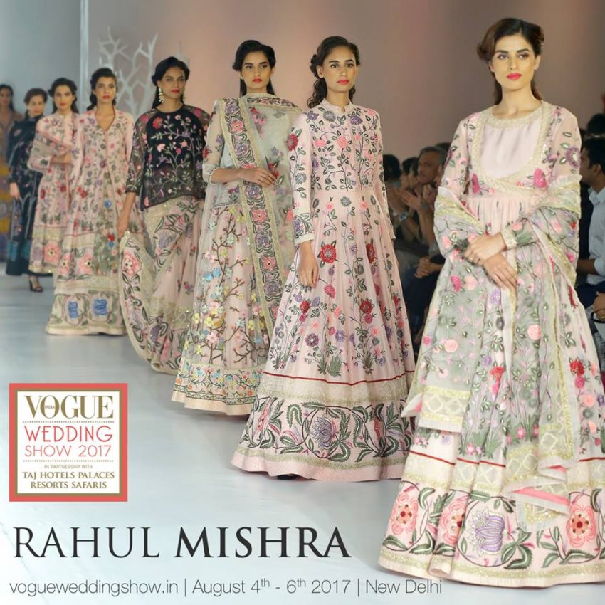 Rahul Mishra collection at the Vogue Wedding Show