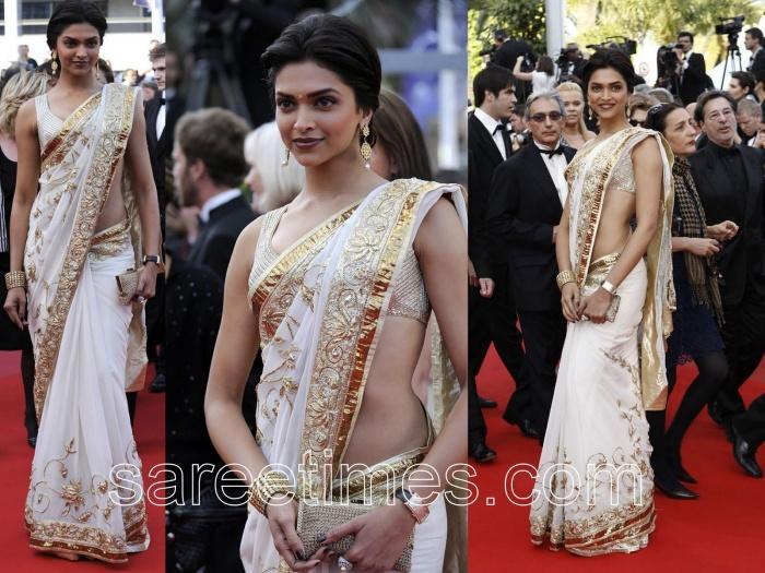 Deepika-Padukone-in-Rohit-Bhal-Saree-Cannes-2010