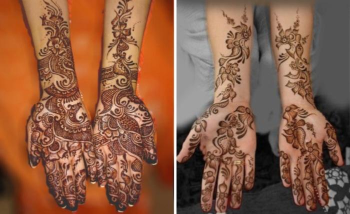 Arabic henns designs