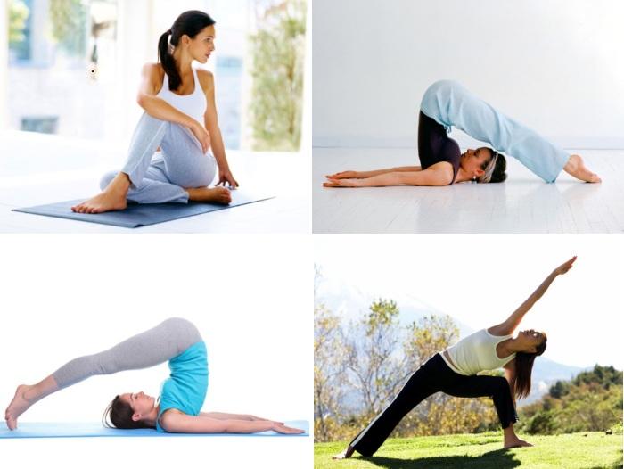yoga postures