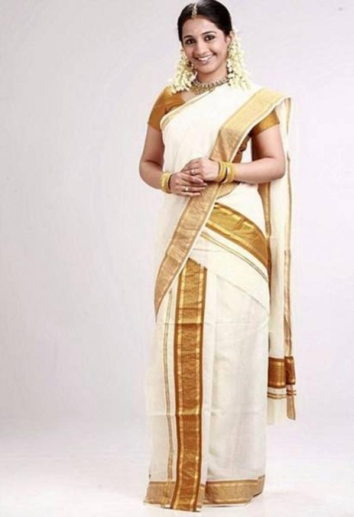 kerala mundu saree collection