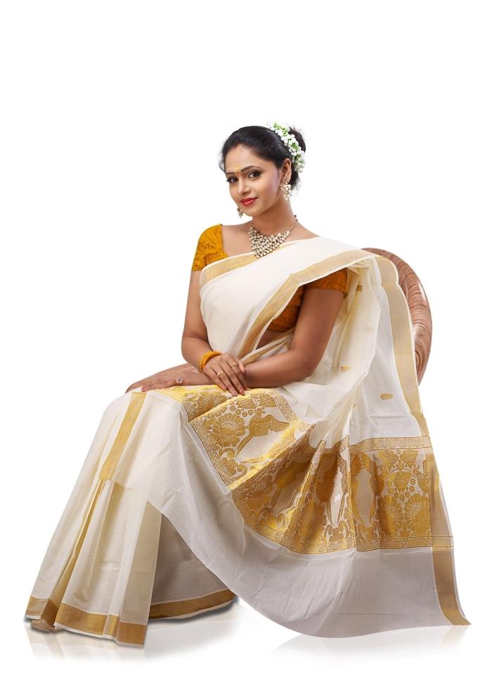 kerala-saree