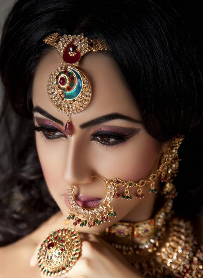 nasreenkhan makeup