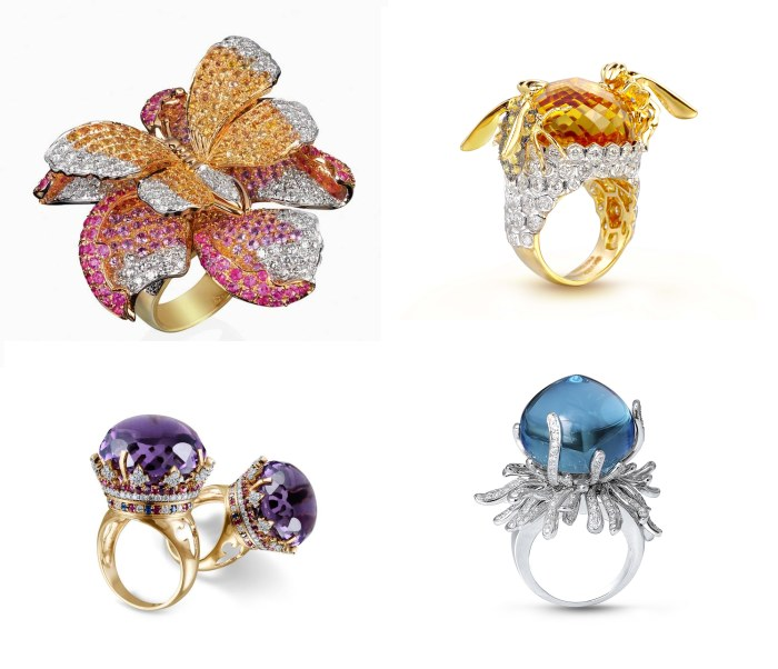 Farah Khan Rings