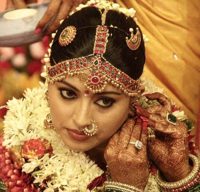 South Indian Bridal Head Pieces