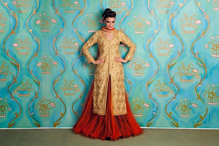 shervani for brides