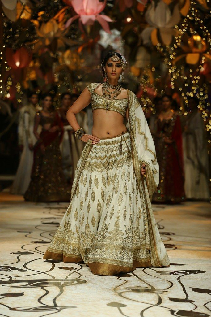 Sonam Kapoor in a Rohit Bal creation