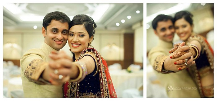 the couple-arnab and priya