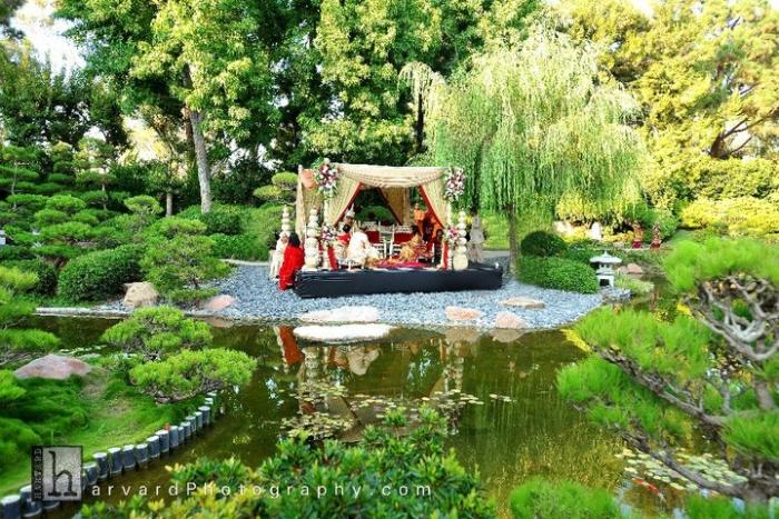 Garden weddings part ii india 39 s wedding blog for Top wedding venues in california