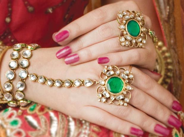 30 Beautiful Bridal Nail Styles India S Wedding Blog