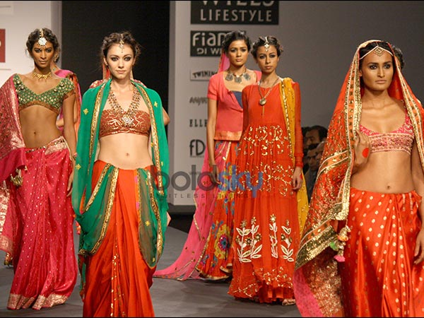 Indian bridal fashion shows