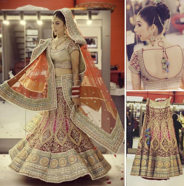 lehenga CTC Mall Delhi photo by weddingstoryinc
