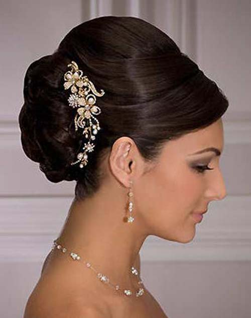 12 Inspirational Indian Bridal Hairstyles for Summer 2014 ...