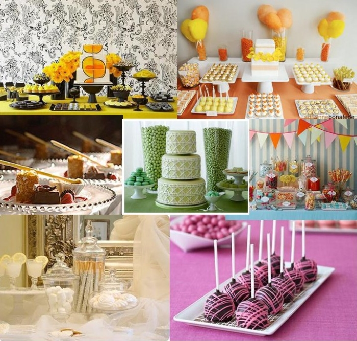 Wedding Desserts Bar Ideas: Be Your Own Wedding Planner- DIY Wedding Dessert Bar