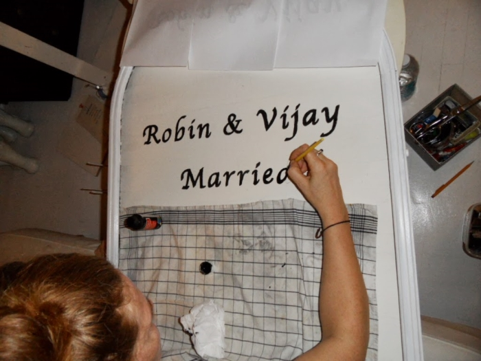 DIY wedding planning