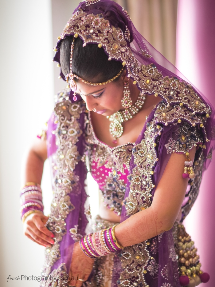 Indian bridal wear