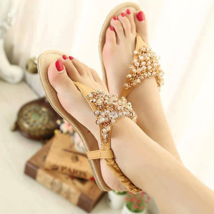 trendy bridal footwear