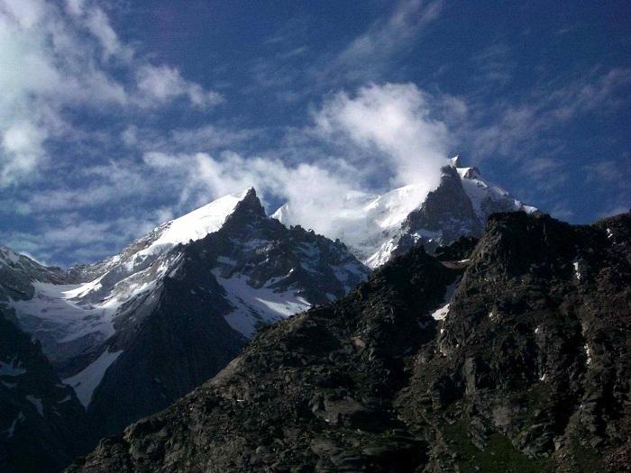 Mountain peaks, Himachal Pradesh