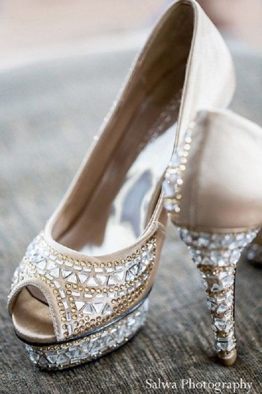 Awesome Wedding Shoes For Indian Bride