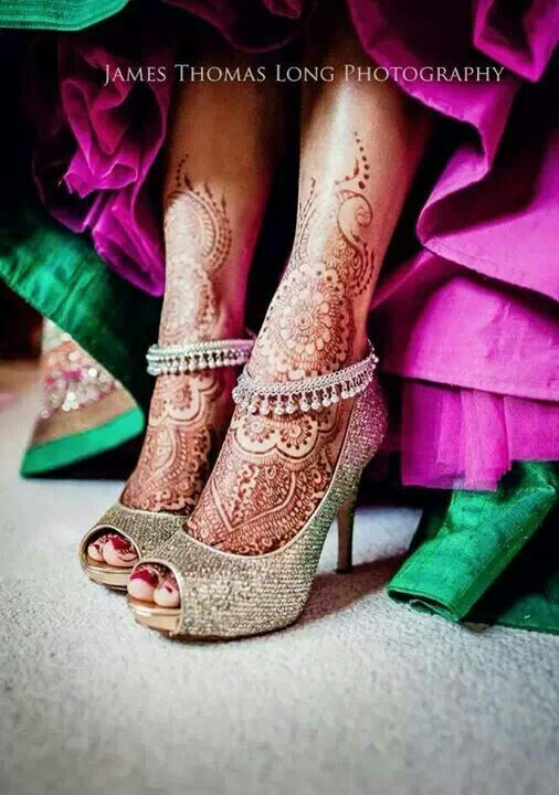 Indian wedding shoes for brides and guests