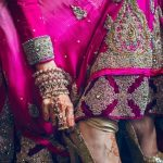 matching indian bridal shoes