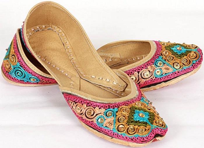 indian designer footwear