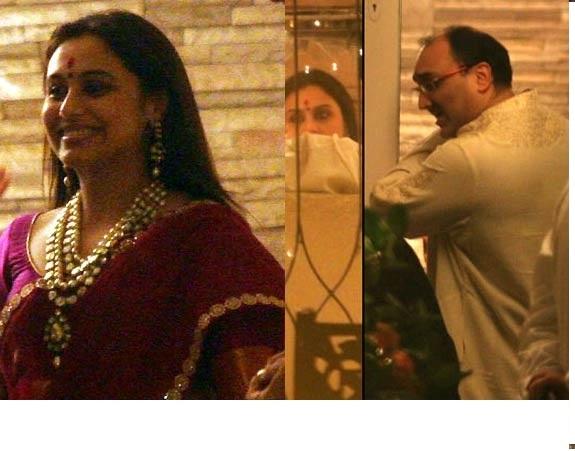 Rani Mukherjee wedding photo