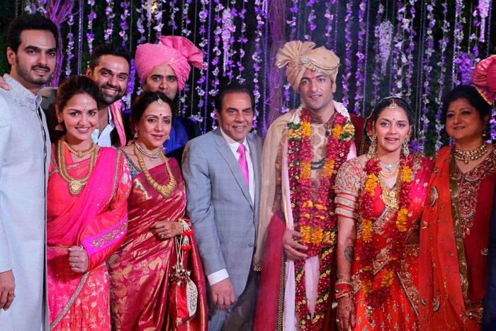 Ahana Deol wedding photo
