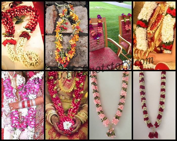 variety of garlands