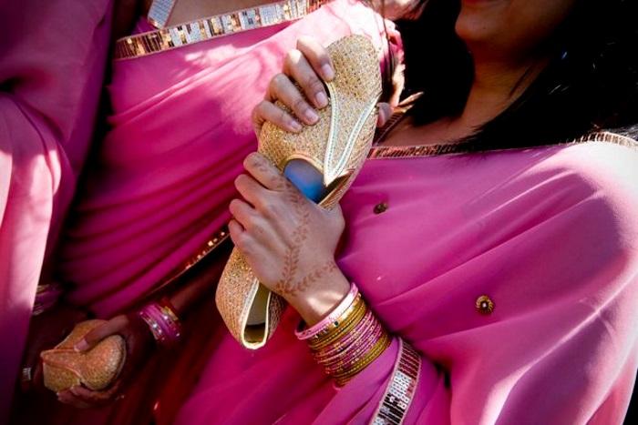 Indian wedding guests