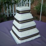 formal elegant wedding cake