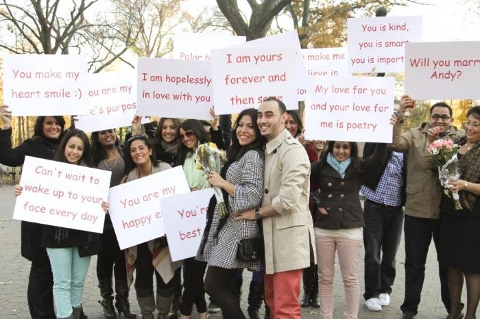 crazy proposal