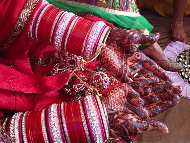 Chura or Chooda in Indian Punjabi wedding jewellery
