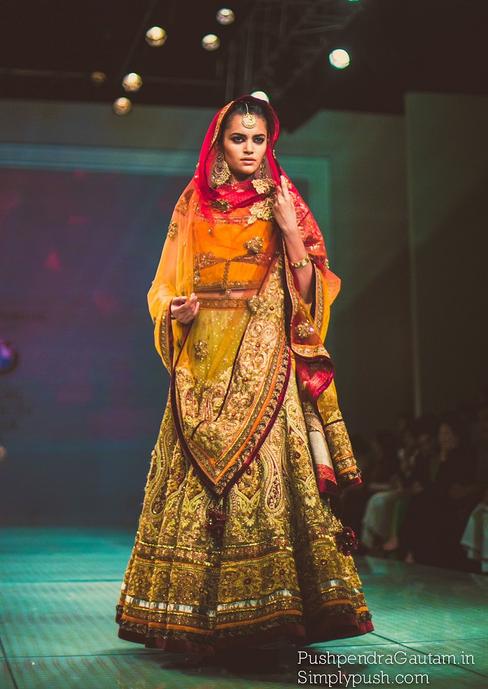 Never before seen images from Indian Bridal Fashion Week Delhi 2014