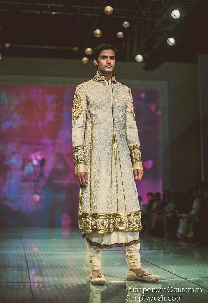 Grooms wear at Indian Bridal Fashion Week Delhi 2014
