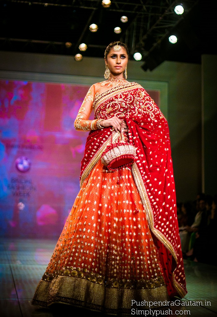 Top creations from Tarun Tahiliani at Indian Bridal Fashion Week Delhi 2014