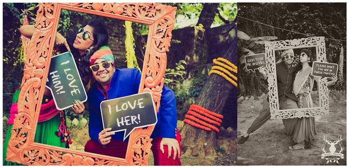 funny wedding photoshoot Morvi Kumari images