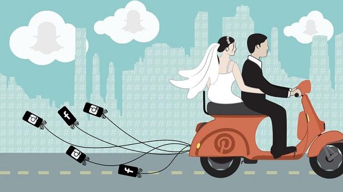 technology eliminates wedding planning stress