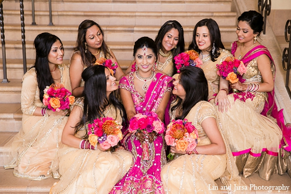 Lovely pink Indian wedding