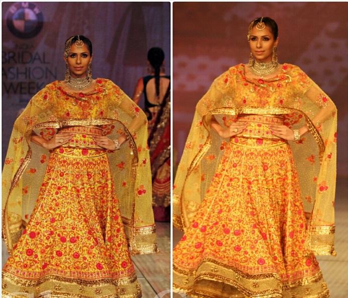 India Bridal Fashion Week Delhi 2014