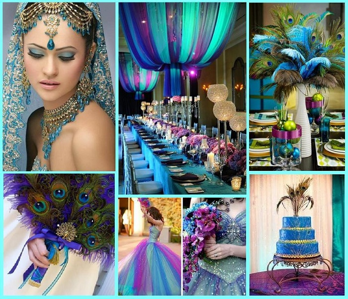 Unique Indian wedding colour schemes