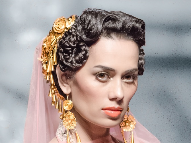 wedding hairstyles inspiration from IBFW 2014