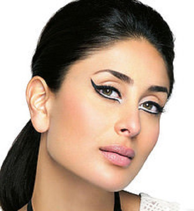 Kareena white eyeliner