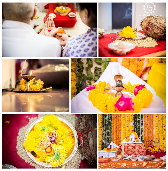 Indian wedding rituals for a picnic themed wedding