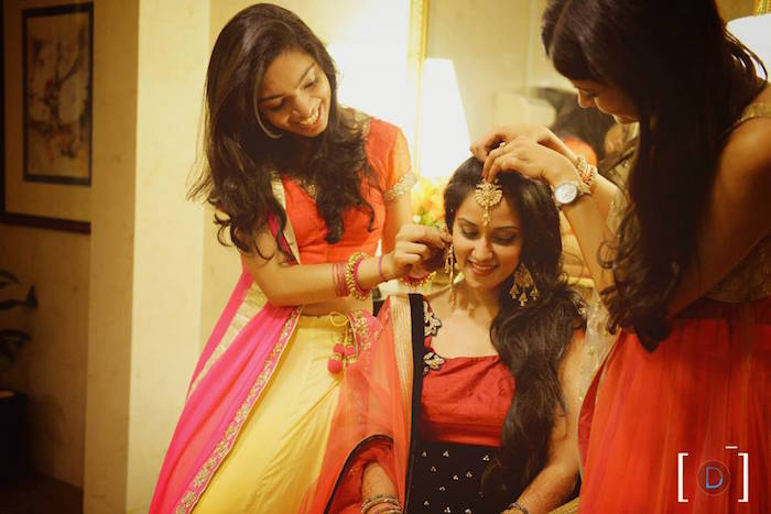 Wedding hairstyles for the Indian bride