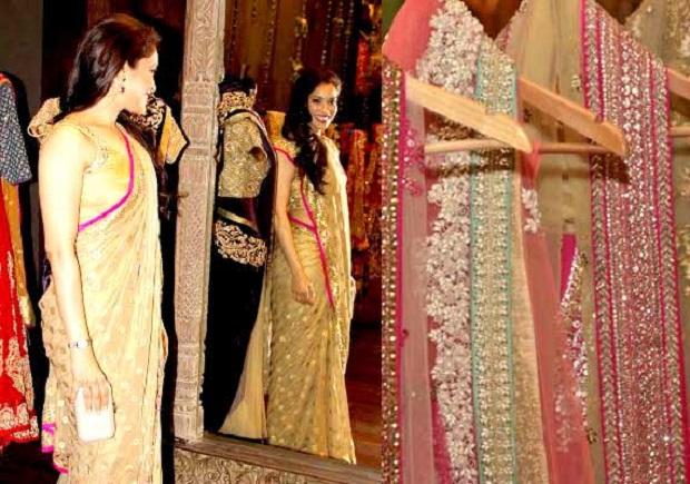 Indian wedding dress customized