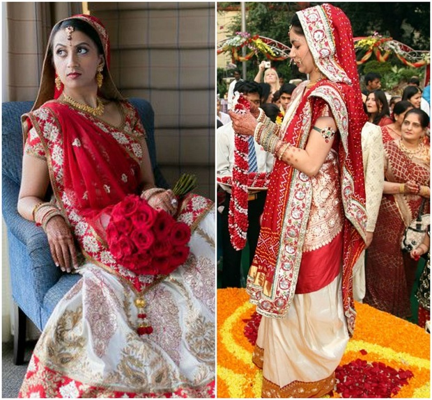 Stylish saree drape