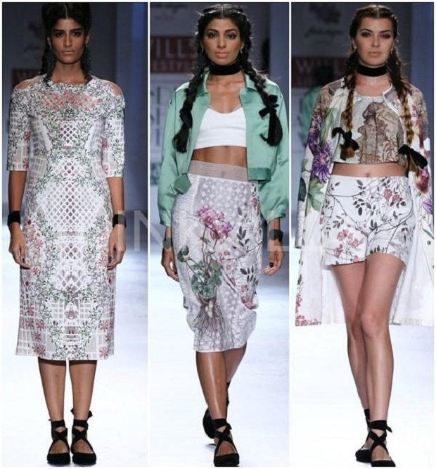 Honeymoon worthy dresses from Wills India Fashion Week