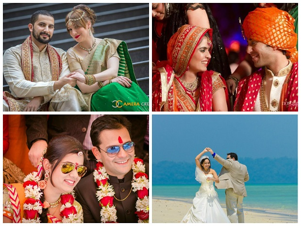 Most popular real weddings of 2014