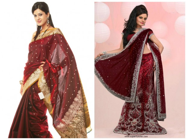 Pantone colour of 2015 Marsala for Indian weddings